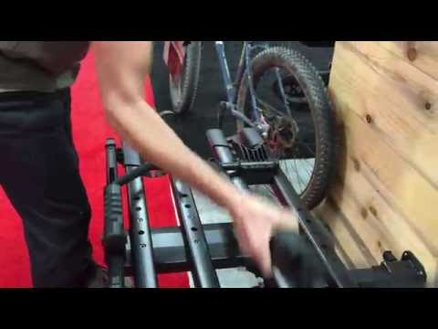 INTERBIKE 2016 Video: Rocky Mount's SplitRail Bike Hitch Rack (a Thule T2 Pro competitor)