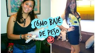 Cómo bajar de peso? - Mi Experiencia ♥ Mery Alice(, 2015-04-01T15:00:00.000Z)