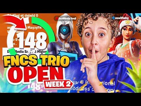 On s'est qualifié en QUART DE FINALE DES FNCS TRIO ! (FNCS OPEN - WEEK 2)