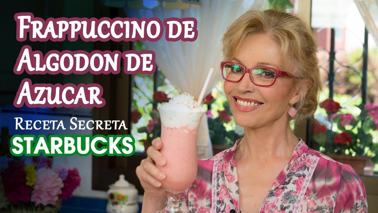 Frappuccino de Algodon de Azucar, Receta Secreta Starbucks