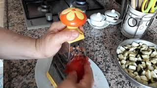 Anne Usulü Domates Soslu Patlıcan Kızartması,Yaz aylarının(Yok böyle basit ve lezzetli bir tarif)