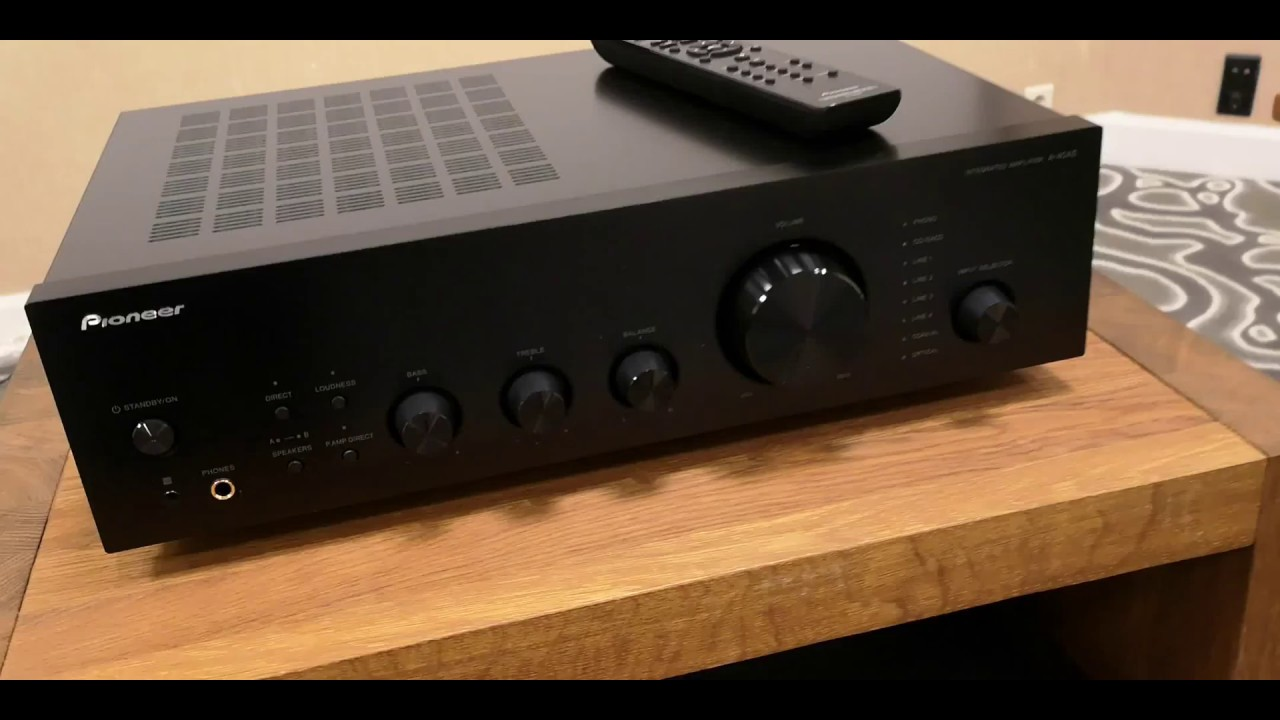 Pioneer A-40AE integrated amplifier