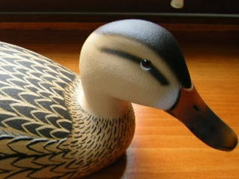 Decoy Carving Hen Mallard Quot Ward Style Quot Part 3 Of 4 Youtube