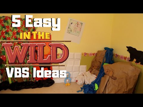 5 Easy In the Wild VBS Decoration Ideas | DIY + Cheap! | Tutorial Tuesday Ep. 84