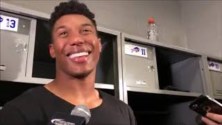 Bills' Zay Jones discusses career day, honoring Pancho Billa