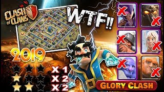 WTF!! Best TH12 War Base (Layout) / Anti 1Star/2Star/3Star || CWL TH12 war base 2019 || GloryClash