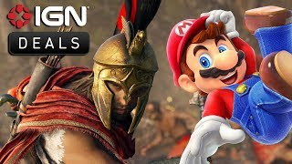 Last Chance to Get $10 Amazon Credit with Assassin's Creed or Mario Party - Daily Deals