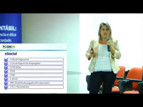 Palestra eSocial e EFD REINF – Novos Desafios para o Profissional Contábil do Terceiro Setor