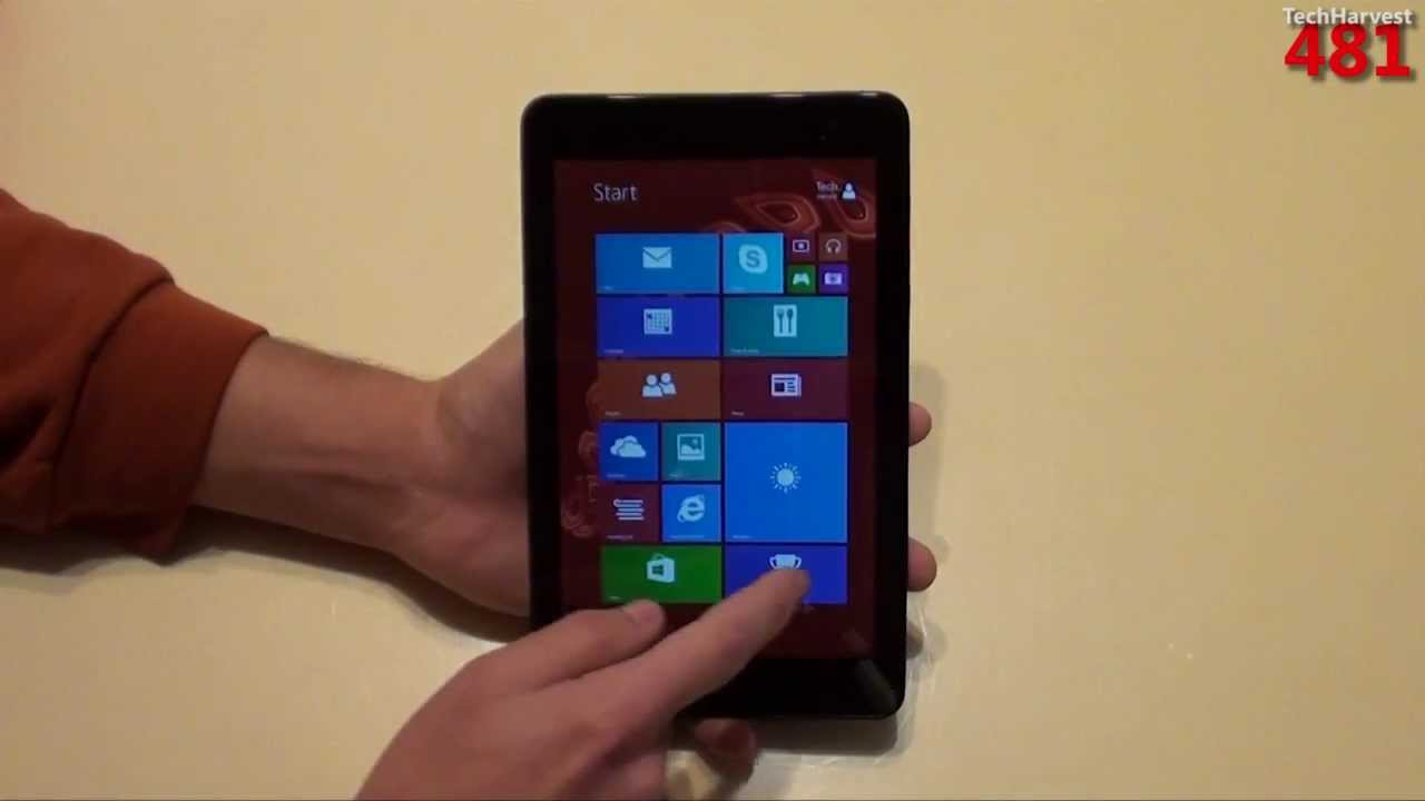 Dell Venue 8 Pro First Look & First Time Power Up: Windows 8 1 Tablet PC  5830
