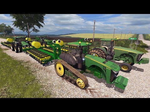 FARMING SIMULATOR 2017 | PLANTERS ARE ROLLING & MIXING FEED FOR THE COWS | MULTIPLAYER EP #42