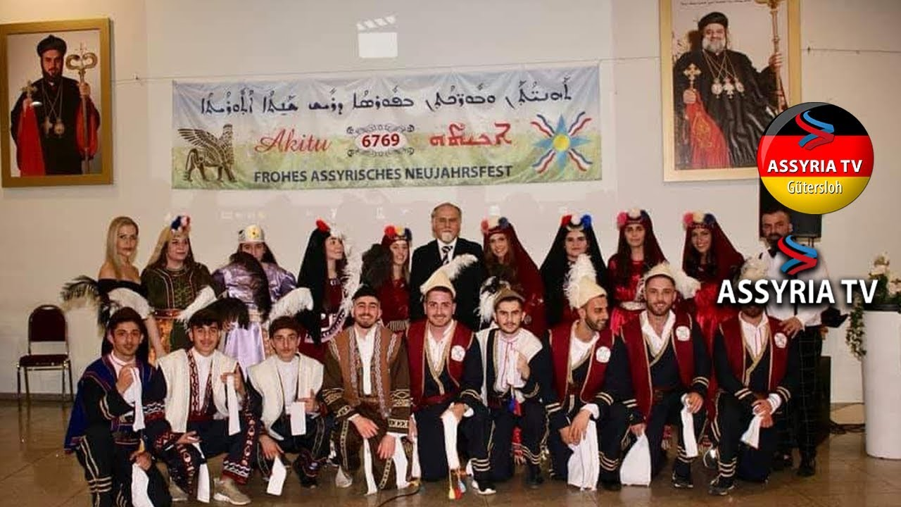 Akitu 2019 Assyrian New Year celebration 6769  Oranized by the Assyrian  club of Gütersloh - Germany