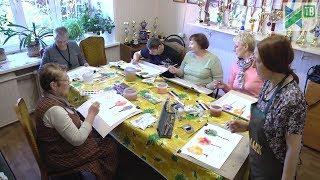 Уроки ИЗО для Ивантеевского общества инвалидов