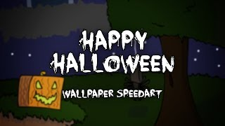 Happy Halloween! - A Wallpaper Speedart