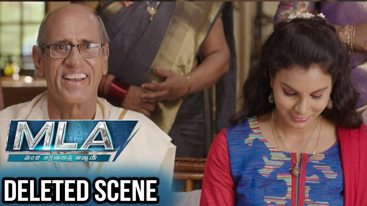 MLA Movie Deleted Scenes   Funny Pelli Choopulu Scene   Nandamuri Kalyan Ram   Kajal Aggarwal