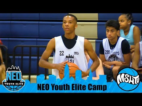 Eric Rivers is SILKY SMOOTH at the 2017 NEO Youth Elite Camp