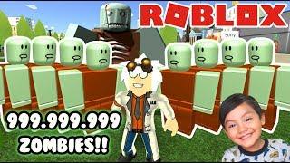 Zombies en Roblox | 999.999.999 Zombies | Juegos Roblox Simulator