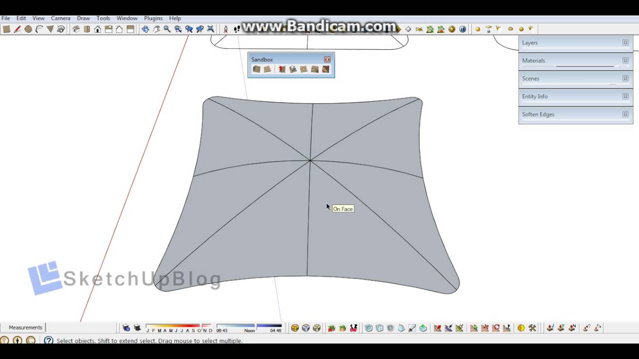 How to make pillow with sketchup - YouTube 2035b6f23