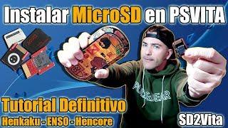 Usar MicroSd en Psvita - SD2vita - Mas FÁCIL imposible! TUTORIAL para TODOS