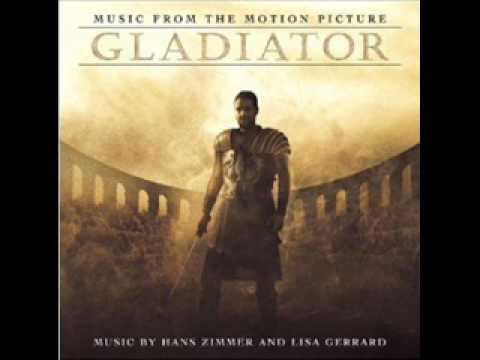 trilha sonora de o gladiador