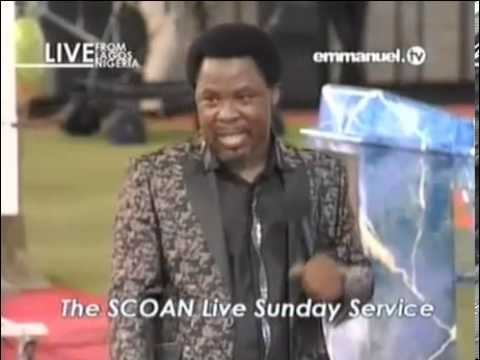 Prophet TB Joshua Prophecy Evil Attack in 2 West African Countries Sunday 29 Sept 13 Emmanuel TV