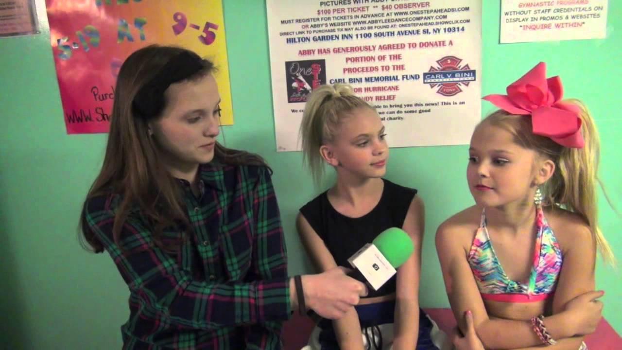 Interview With Jordyn Jones And Jojo Siwa At One Step Ahead Dance ...
