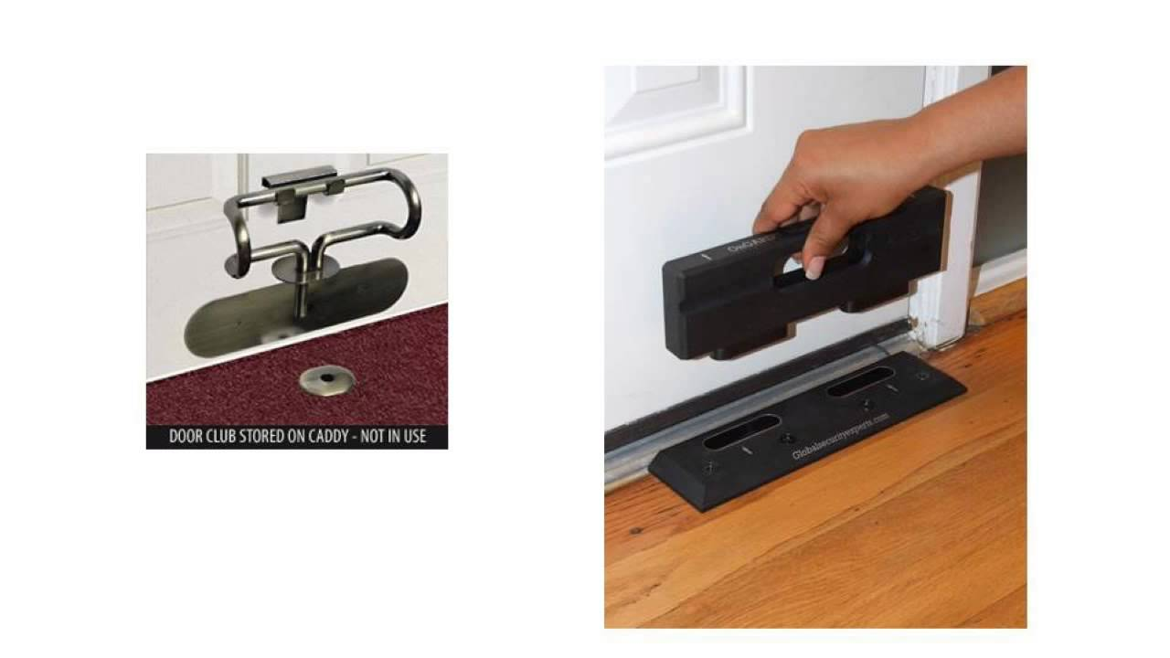 How to harden secure doors and windows easy diy tips for Front door security bar