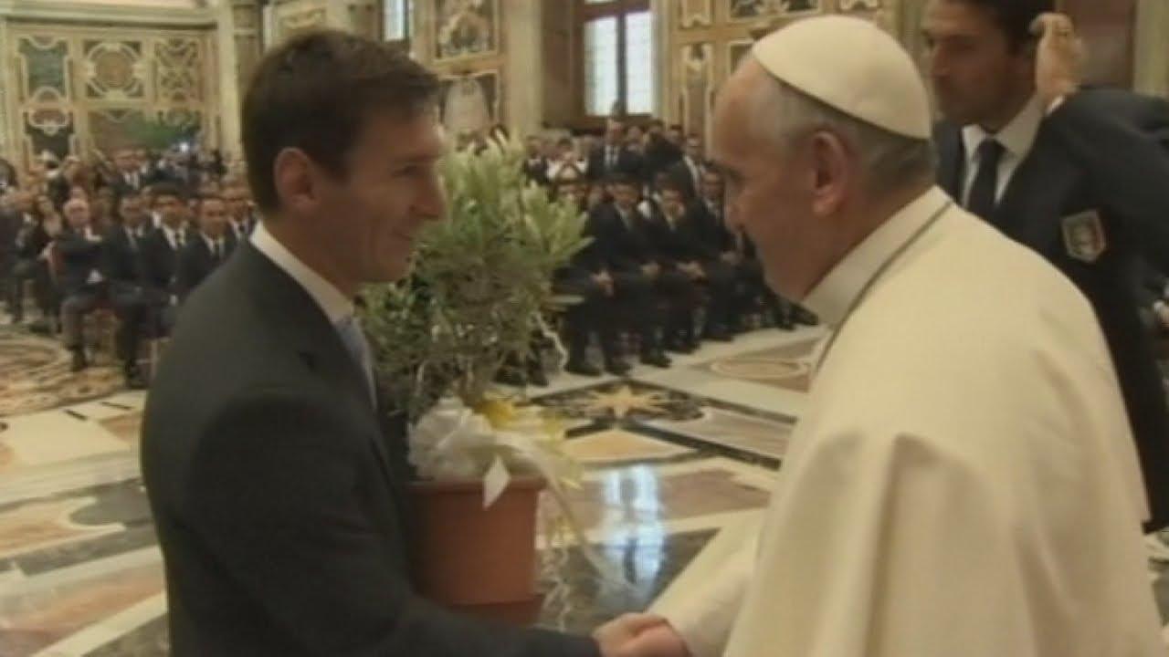 Paus Frannsiskus Heran Lionel Messi Dipanggil Begini oleh Penggemarnya