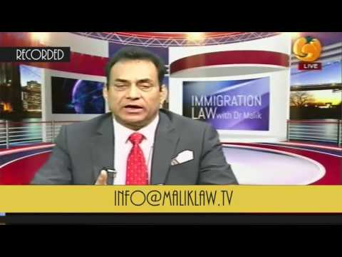 Immigration Law With Dr Malik 22 October 2016