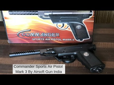 Commander Sports Air Pistol Mark 3 By Airsoft Gun India