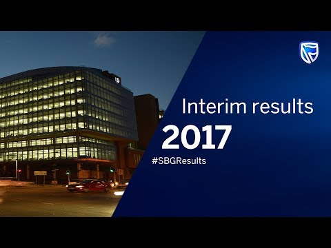 Standard Bank Group 2017 Interim Results