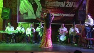 Maya Sabitova/Майя Сабитова. Ahlan Wa Sahlan Festival 2016. Improvization With Band. Baladi And Drum