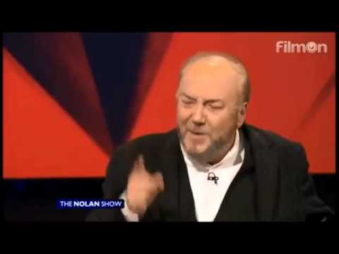 George Galloway MP on Peter Robinson & Audience Bigot [The Nolan Show]