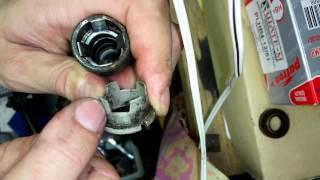 Снятие и установка, замена теплообменника АКПП bmw. Как снять быстроразьемы