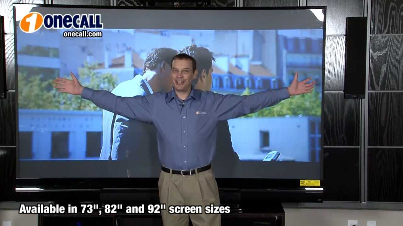 Closer Look Mitsubishi 840 Series 3D HDTV - YouTube
