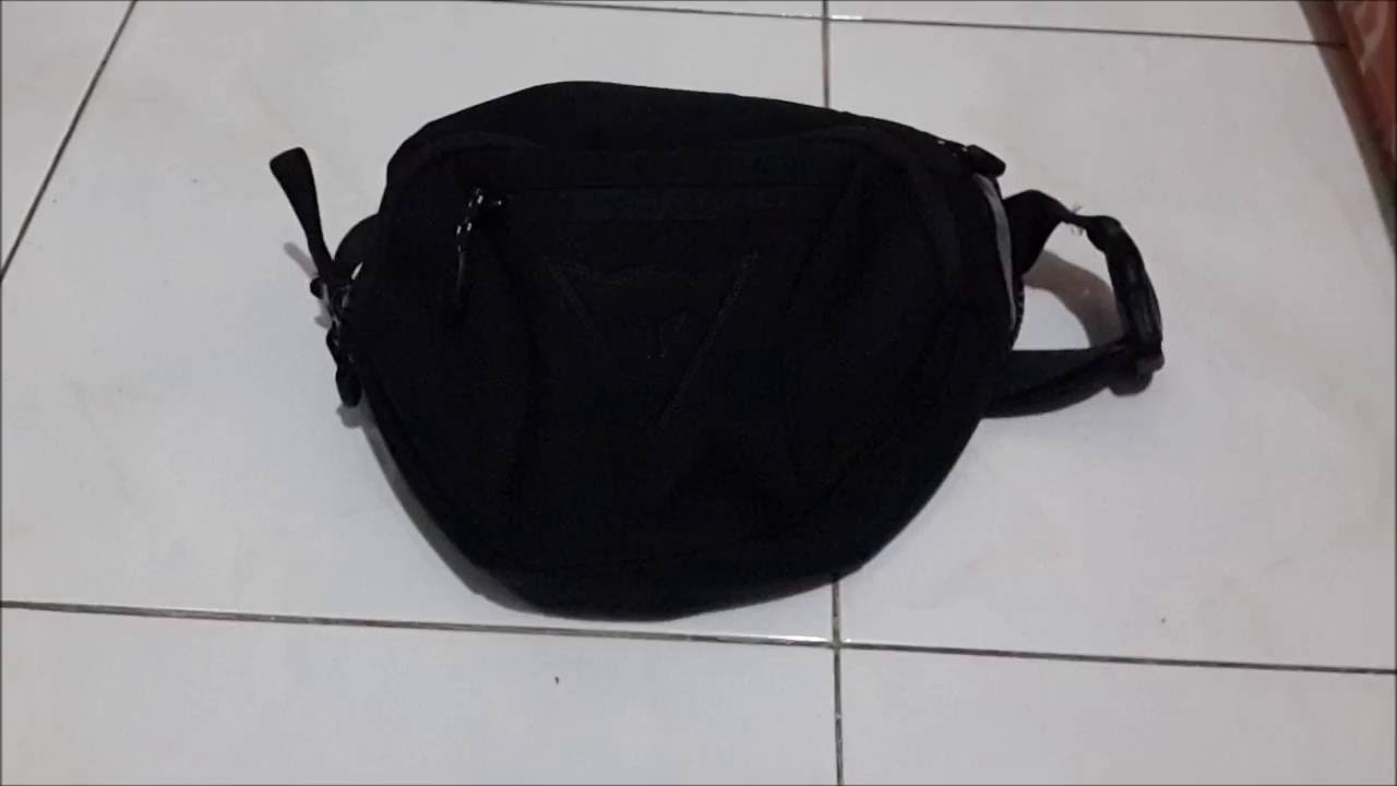8ca470834a Review Dainese Big Belt Bag by Jerry Wibowo