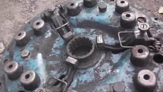 Порвало диск сцепления МТЗ ремонт