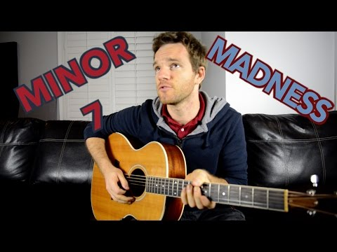 how to play minor 7 guitar chords