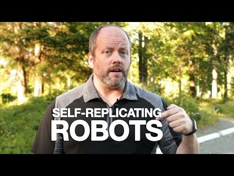 Fraser Cain pitches Self-Replicating Robots