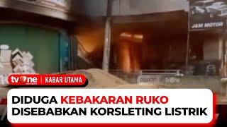 Empat Orang Terjebak Di Dalam Bangunan Ruko Terbakar | Kabar Utama tvOne