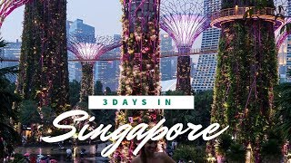 3 Days in Singapore | TRAVEL VLOG