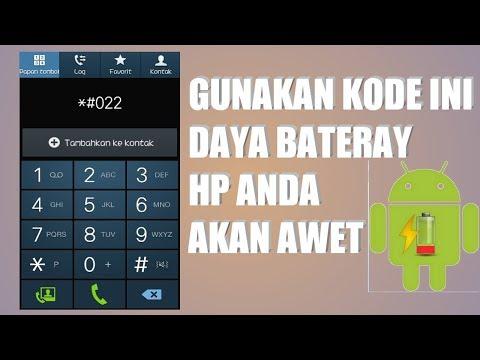 CARA MENGATASI BATERAI BOROS DI ANDROID / Kalibrasi baterai   Gunakan kode ini bateray HP akan awet