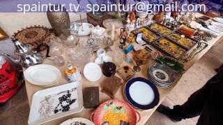 Где в Аликанте продаются антикварные вещи, бижутерия, книги, пластинки и т.д.(Блошинный рынок на главной площади Аликанте (Alicante), продается многое, от книжек и старой бижутерии до монет,..., 2017-01-30T12:57:47.000Z)