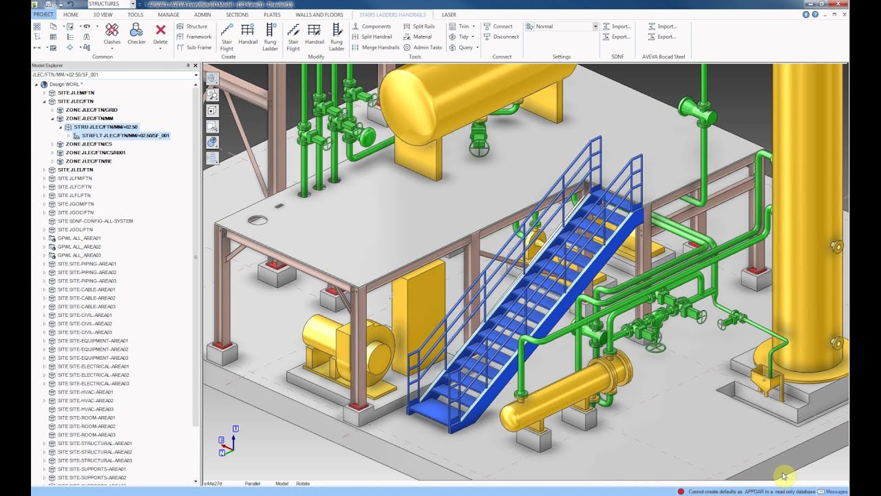 ORINOX Formation - AVEVA EVERYTHING 3D (E3D) Training course