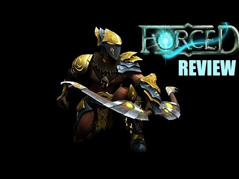 FORCED Game Review & Gameplay - Co-Op Tactical Arena Impressions