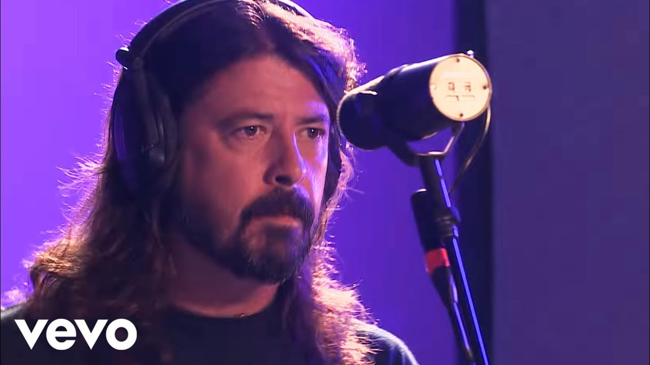Foo Fighters Let There Be Rock Ac Dc Cover In The Live Lounge