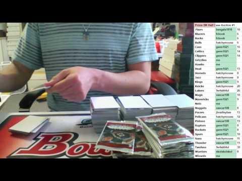 2015/16 Prizm Basketball Half Case Auction #1