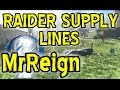 FALLOUT 4 HOW TO MAKE RAIDER SUPPLY LINES Between OUTPOSTS in the COMMONWEALTH