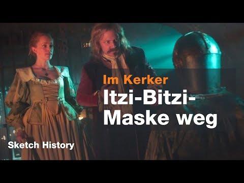 Karl Dall in der eisernen Maske  NEUE STAFFEL Sketch History 2018  ZDF