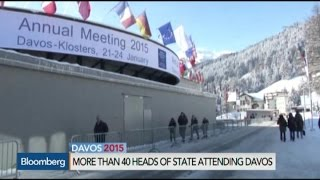 The Threat of Deflation Hovers Over Davos