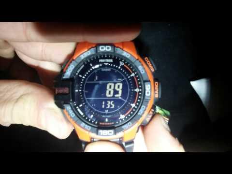 Casio Protrek 270-4 Tough Solar Triple Sensor HD